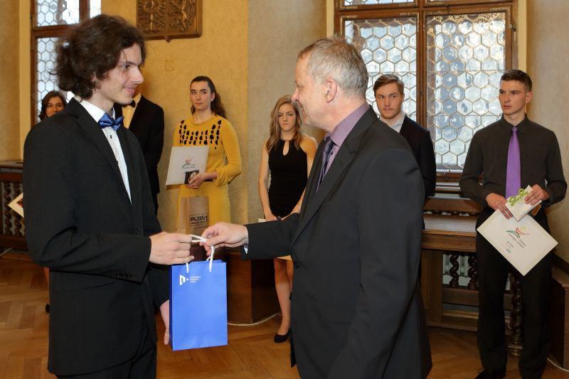 Jakub Dobrý, Cena rektora ZČU v Plzni 2016